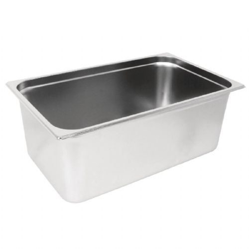 Premier Stainless Steel Gastronorm Pan - Full Size 1/1 20cm